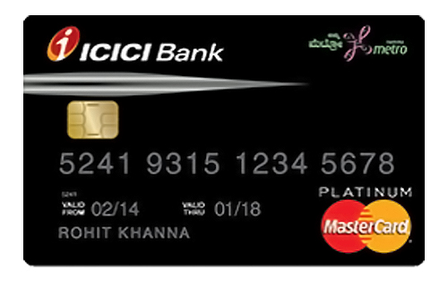 Credit card apply for credit card online in 3 easy steps waytobank icici bank unfare metro visa credit cards colourmoves